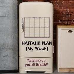 MY WEEK HAFTALIK PLAN (BUZDOLABI)