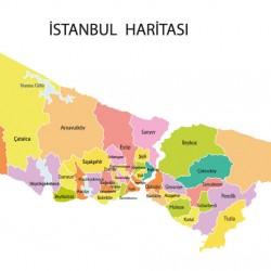 İSTANBUL HARİTASI