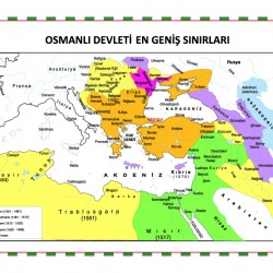OSMANLI HARİTASI