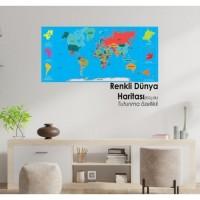 Renkli Dünya Haritası