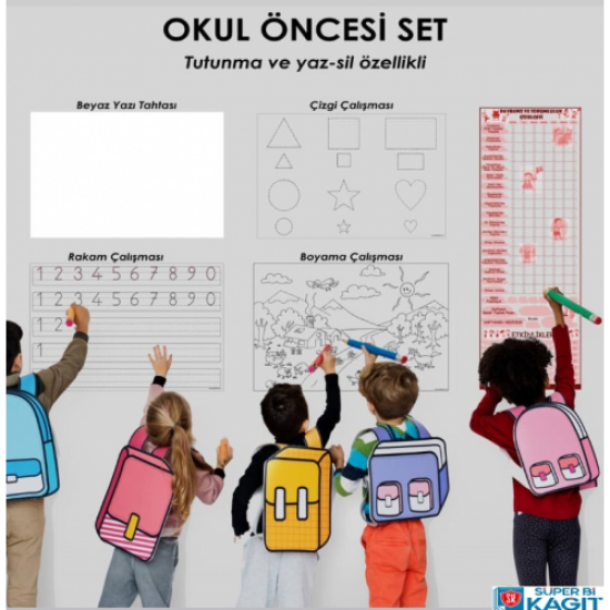 OKUL ÖNCESİ SET 7'li