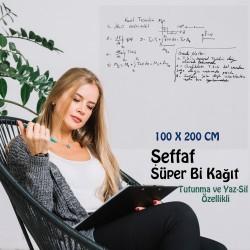 ŞEFFAF YAZI KAĞIDI 100x200