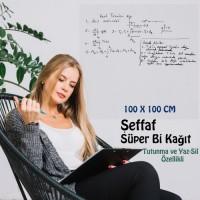 ŞEFFAF YAZI KAĞIDI 100x100
